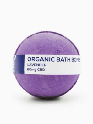 CBD Living Bath Bomb 60mg Lavender