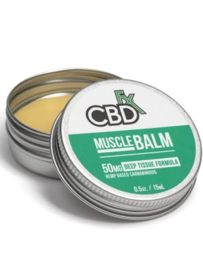 CBDfx Mini Balms 50MG Muscle