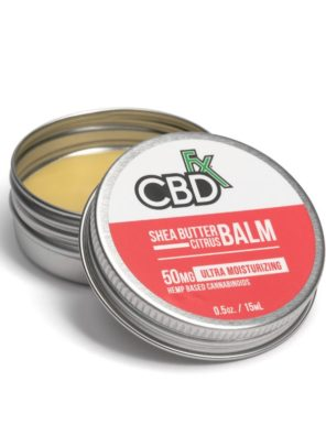 CBDfx Mini Balms 50MG Shea Butter Citrus
