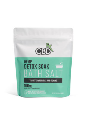 Hemp CBDfx Bath Salts Detox 100mg