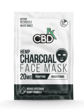CBDfx Face Mask Hemp Charcoal