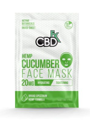 CBDfx Hemp Cucumber Face Mask