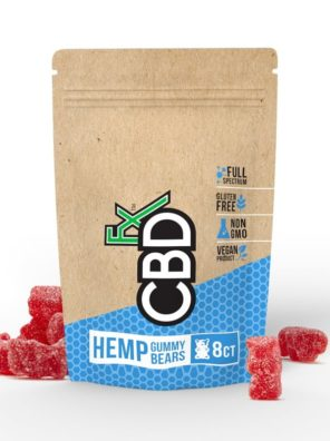 CBDfx Gummy Bears 40mg (8ct Pouch)