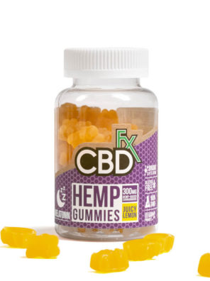 CBDfx Gummies With Melatonin 300MG 60 count