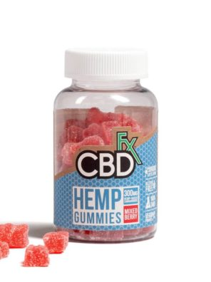 CBDfx Gummy Bears 300mg