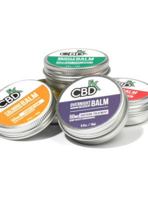 CBDfx Mini Balms 50MG (4) Pack