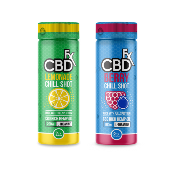 CBDfx Chill Shots 20MG (Berry) (Lemondade)