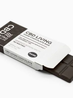 CBD LIVING 120MG NANO DARK CHOCOLATE