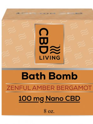 Each CBD Amber Bergamot Bath Bomb contains 60mg of nano-CBD for maximum absorption. This package includes one 8 oz. Amber Bergamot CBD Bath Bomb.