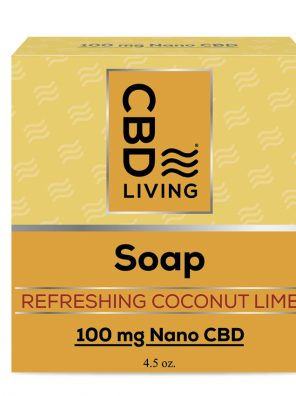 CBD Living Soap Coconut Lime