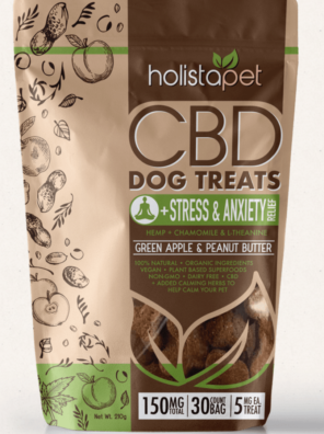 HolistaPet CBD Dog Treats +Stress & Anxiety Relief