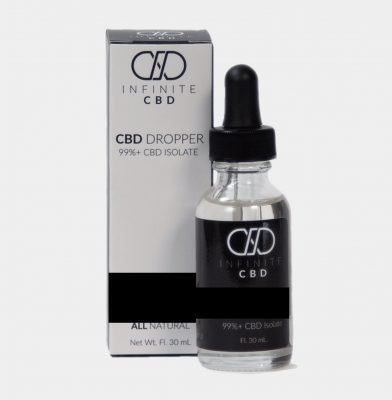 Infinite Isolate Droppers 500mg