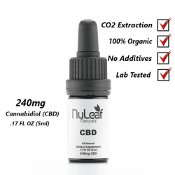 240mg CBD Full Spectrum High Grade Hemp Extract (50mg/ml)