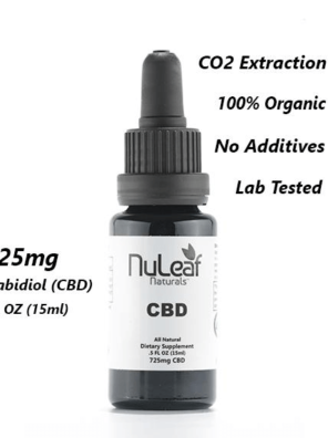 725mg CBD Full Spectrum High Grade Hemp Extract (50mg/ml