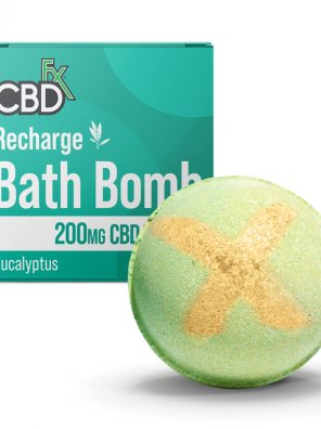 CBD-infused Recharge Bath Bombs