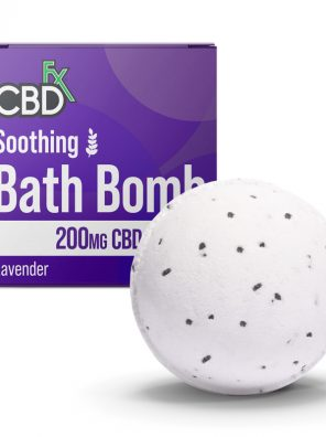 CBD Infused Bath Bomb