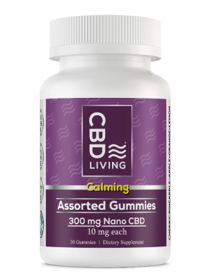CBD Living Gummies Assorted Flavors